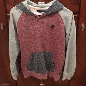 Billabong -  boys hooded sweatshirt- gently worn